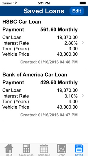 Car Loan Calculator Plus on the App Store