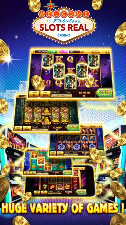 Slots Real Las Vegas - Free Casino Slot Machine Games - Bet, Spin and Win Jackpot & Bonus screenshot-4