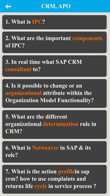 SAP Interview Questions by Hung Ho