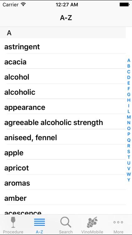 Wine Tasting by VinoMobile(R) screenshot-4