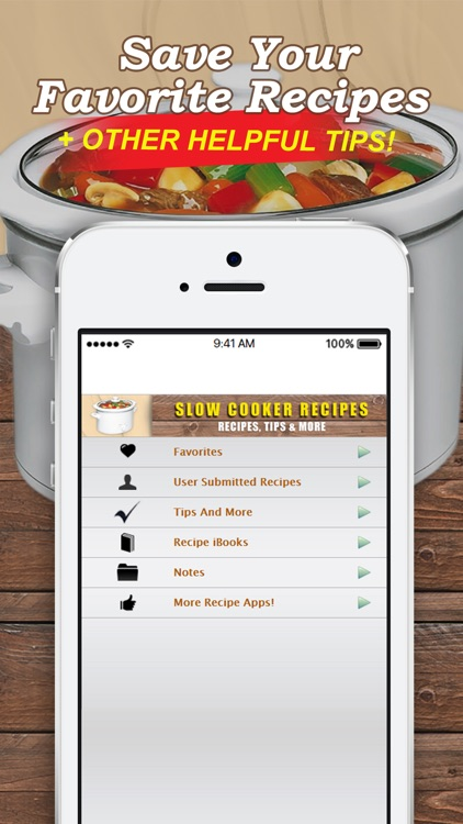 Slow Cooker Recipes. Easy and Quick! screenshot-3