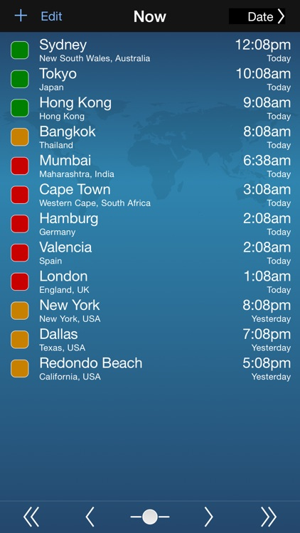 TimeScroller - Time Zone Utility screenshot-0
