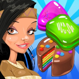 Cake Smash Mania: Candy Cupcake Match 3 Puzzle Game