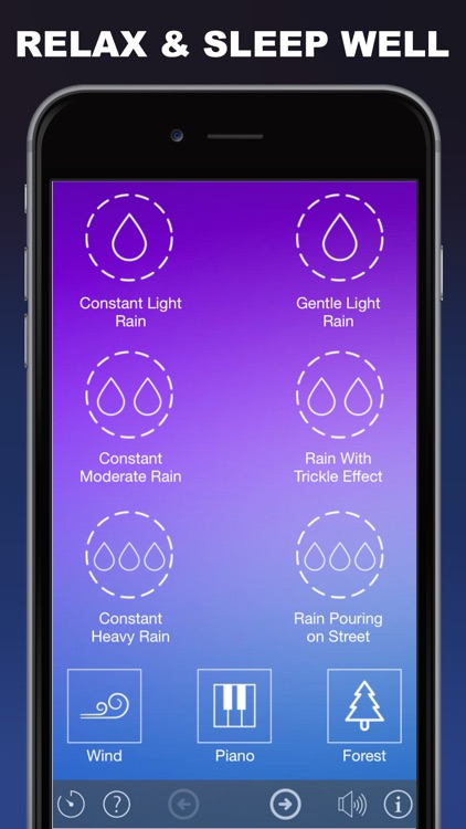 Rain Sleep Sounds : Relax and Sleep Better With Ambient Rain Sounds