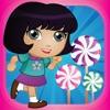 通过对糖果免费梦幻国度糖果世界运行  -  Candy World