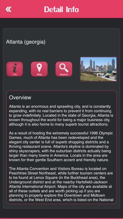 Famous Cities in USA screenshot-3
