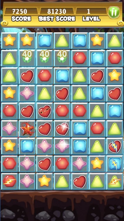 Clash of Diamonds Jewels: Match 3 Puzzle Game Adventure