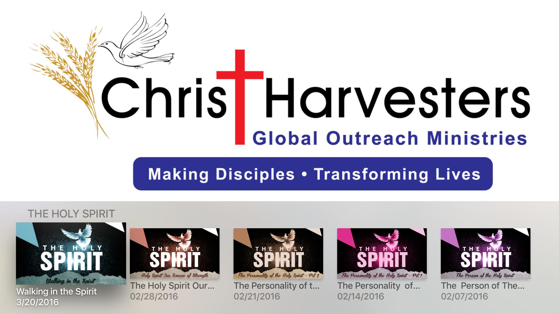 Christ Harvesters - CHMI/ USA screenshot 8