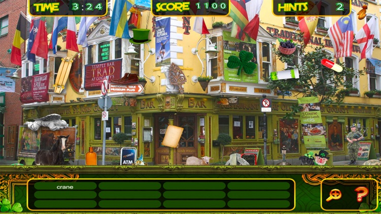 St. Patrick's Lucky Irish Day – Hidden Object Spot and Find Objects Differences Holiday Game
