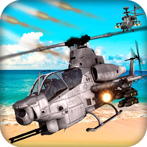 Heli Dog Fight Chase - Gunship