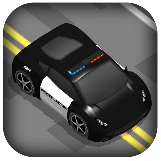 3D Zig-Zag Cops Racer -  GT Police Highway Traffic Racing Game