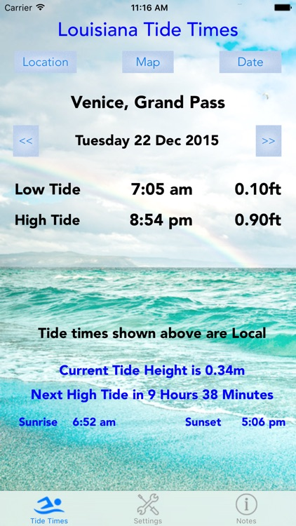 Louisiana Tide Times screenshot-4