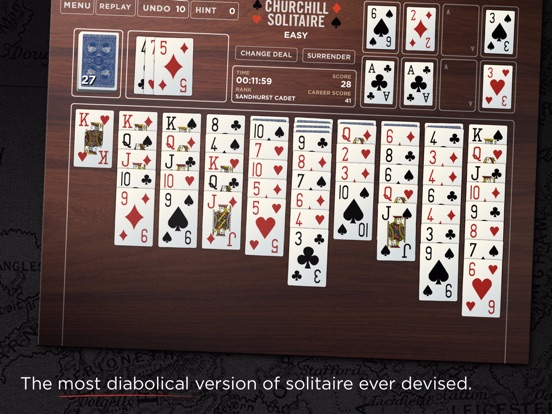 Churchill Solitaire на iPad