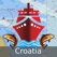 Marine Navigation - Croatia - Offline Gps Nautical Charts & River Maps for Fishing, Sailing and Boating