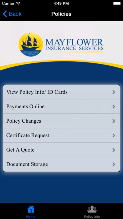 Mayflower Insurance Services screenshot-1