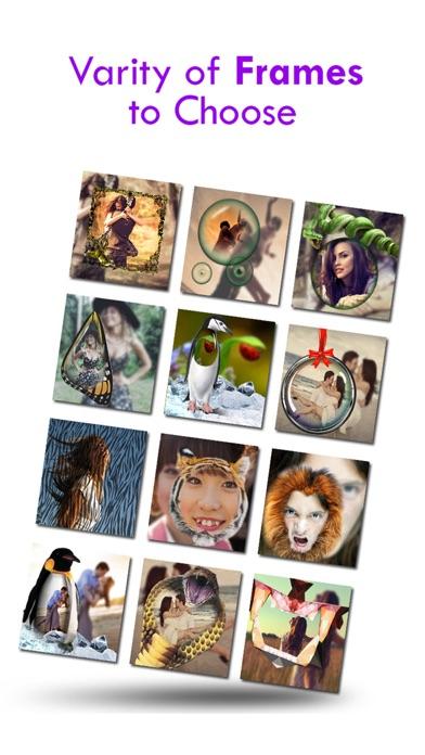 蠻力相機之美 - 免費照片拼貼製作隨著特產畫框為Instagram的屏幕截圖1