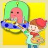儿童绘画启蒙之涂鸦天地 - 幼儿 宝宝 给未来世界的宇宙飞船,机器人涂色