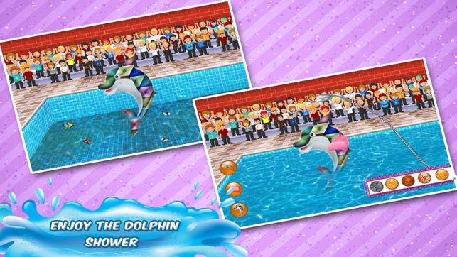 Pool-Party Delphin-Show Reinigung & Waschen im App Store