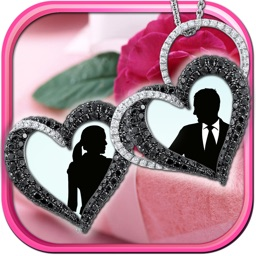Locket Frames for Love Pics – Filter Your Romantic Photos and Add Sweet Stickers on Virtual Jewelry