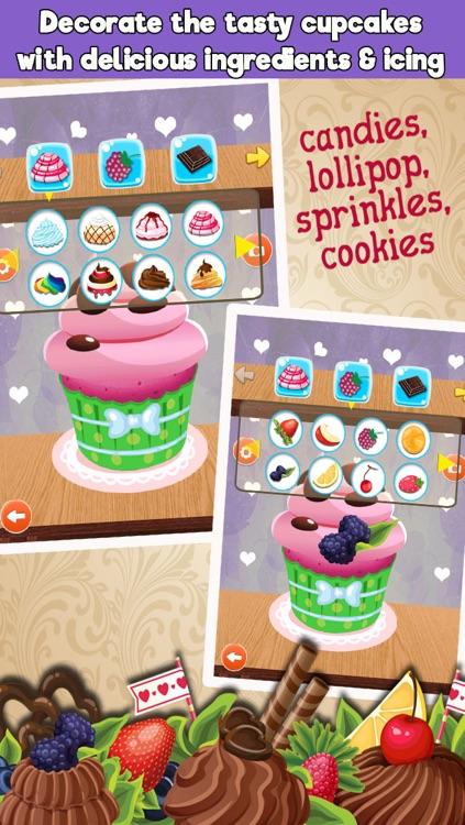 Crazy Cupcakes Maker Cooking games screenshot-3