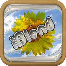 iBlend - Blend photos, images, texts and drawing with 18 different effects