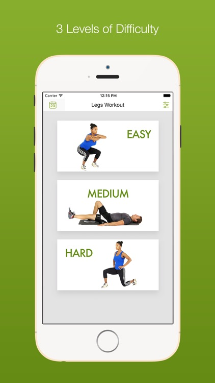 Daily Leg Workouts by Fitway