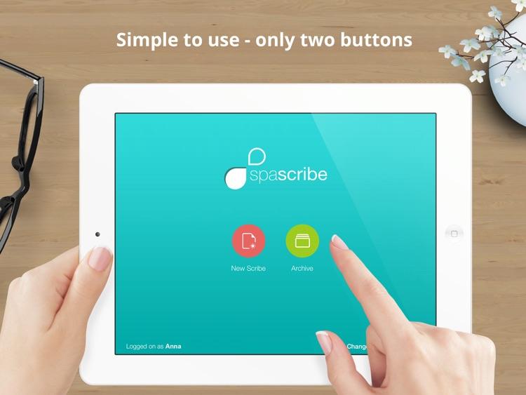 Spascribe - skincare prescription pad with eCommerce integration for aesthetics clinics, spas, beauty salons & cosmetics shops screenshot-4