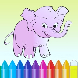 Animal Coloring Book - Drawing for kids and kindergarten