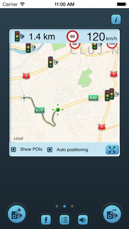 i SpeedCam Germany (Speed Camera Detector with GPS Tracking)