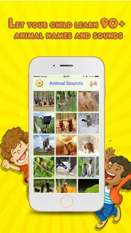 Animal Sounds - App for kid