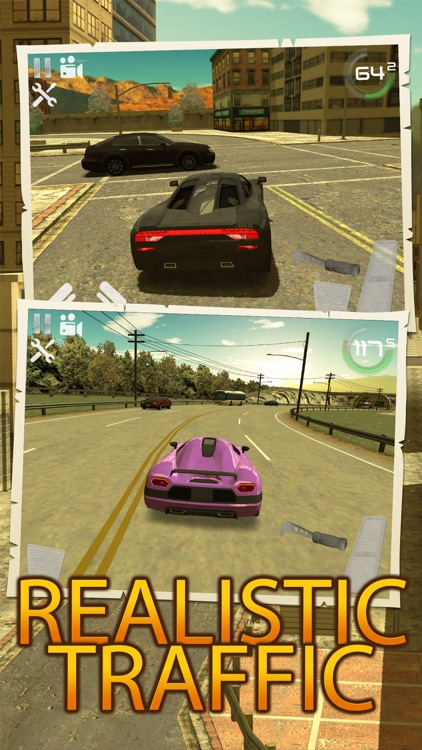 City Traffic Car Driving Parking Career Simulator