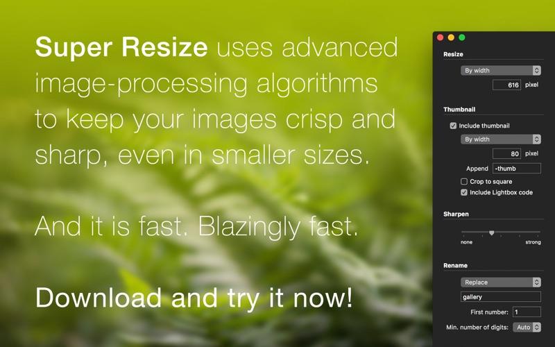 Super Resize Screenshot