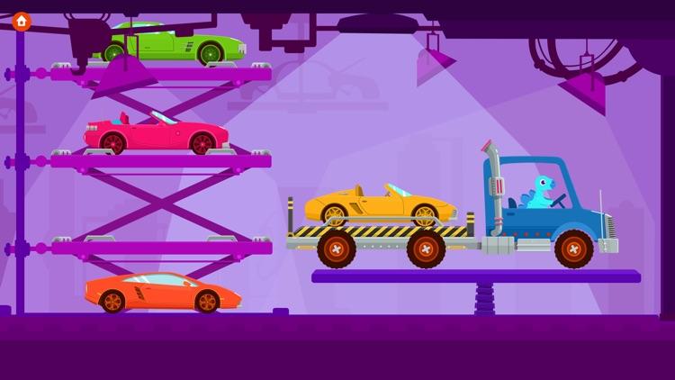 Dinosaur Truck - Driving Simulator Games For Kids screenshot-0