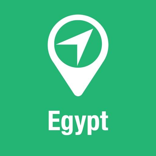 大指南 埃及 地圖+遊客指南與下線聲音導路器