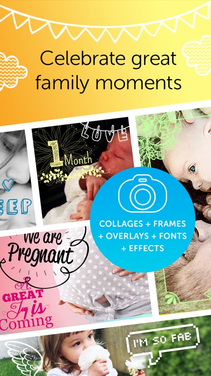 Baby Photo Editor - Pregnancy & Baby Milestone pics