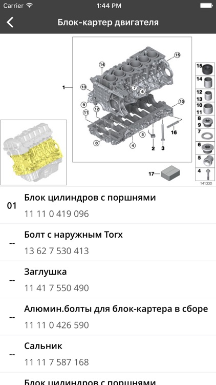 ETK для BMW - Запчасти для BMW screenshot-1