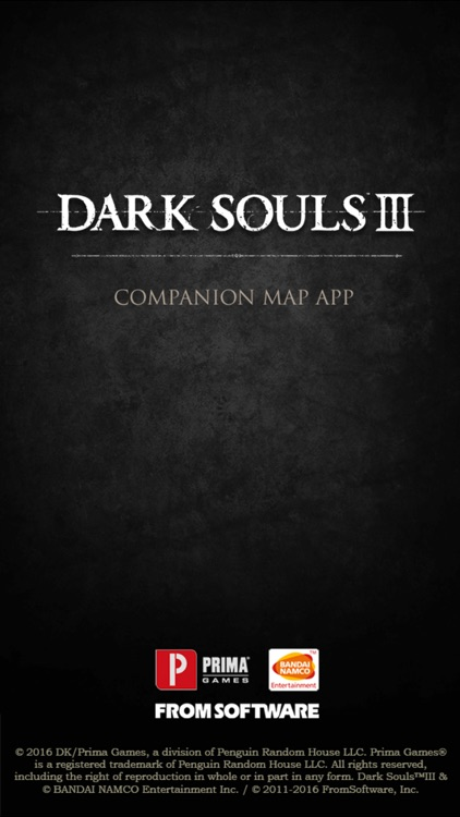Dark Souls III Map Companion