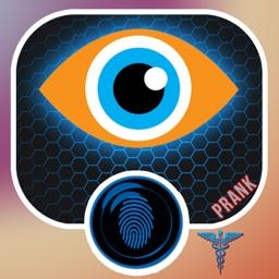 Finger Free Eye Test Prank