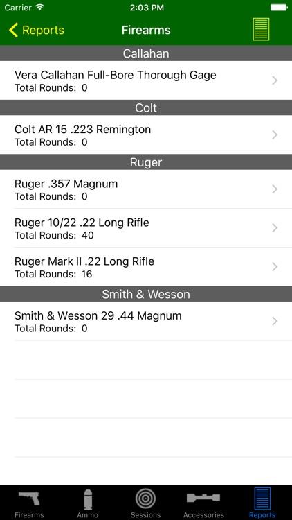 Gun Log screenshot-4