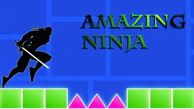 Amazing Ninja Dash - Run n Jump or Fall & Die