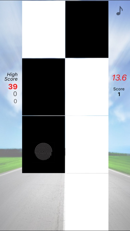 Tap Tap Racer (within 15sec.)