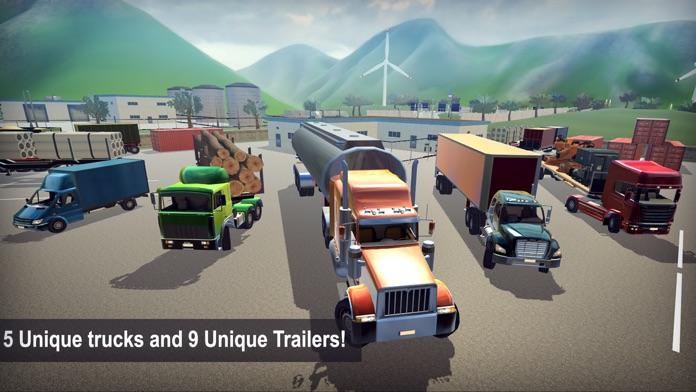 Truck Simulator 2016 3D Screenshot