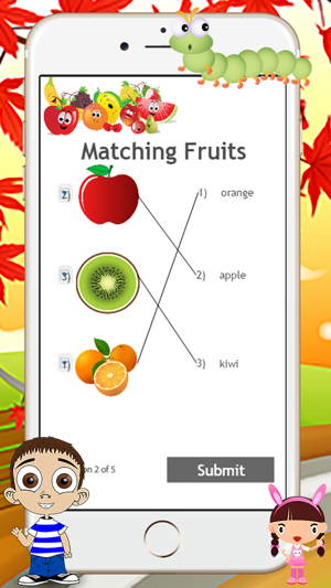 ABC Fruits - The Alphabet Letters and Phonics Game on the