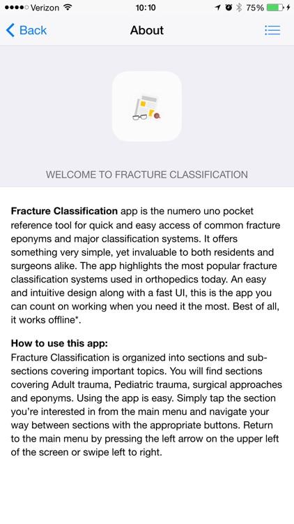 Fracture Classification (FC) screenshot-3