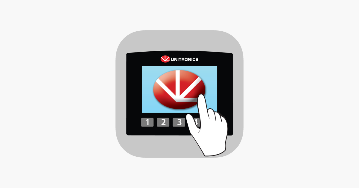 Unitronics' Remote Operator on the App Store
