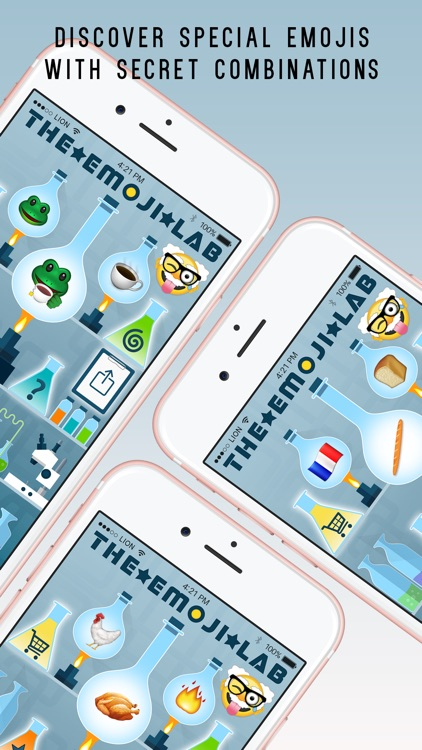The Emoji Lab Plus - Mix and combine your favourite emojis screenshot-4