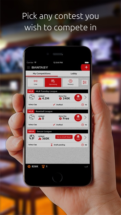 Bantasy – Daily Fantasy Sports screenshot-0