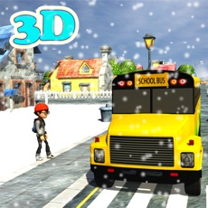 Activities of Winter School Bus Parking Simulator