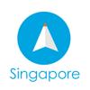 シンガポール旅行者のためのガイドアプリ 距...