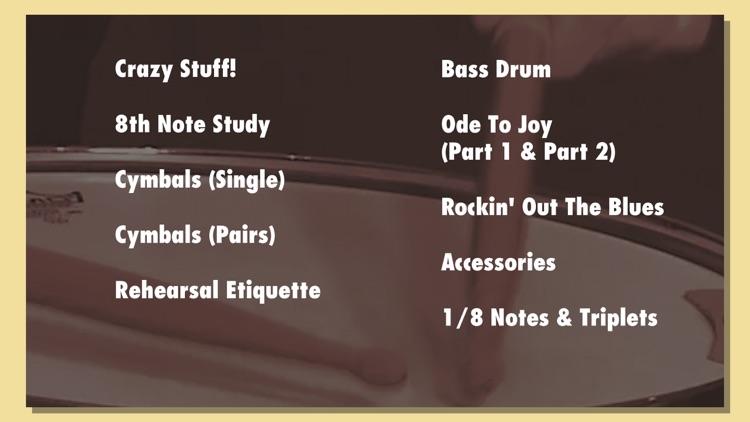 Music Lifeboat Presents: Learn Percussion screenshot-3